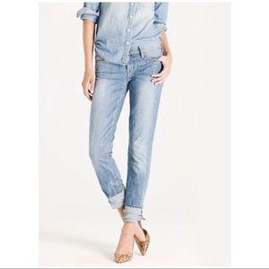 J. Crew matchstick cloud-nine jeans